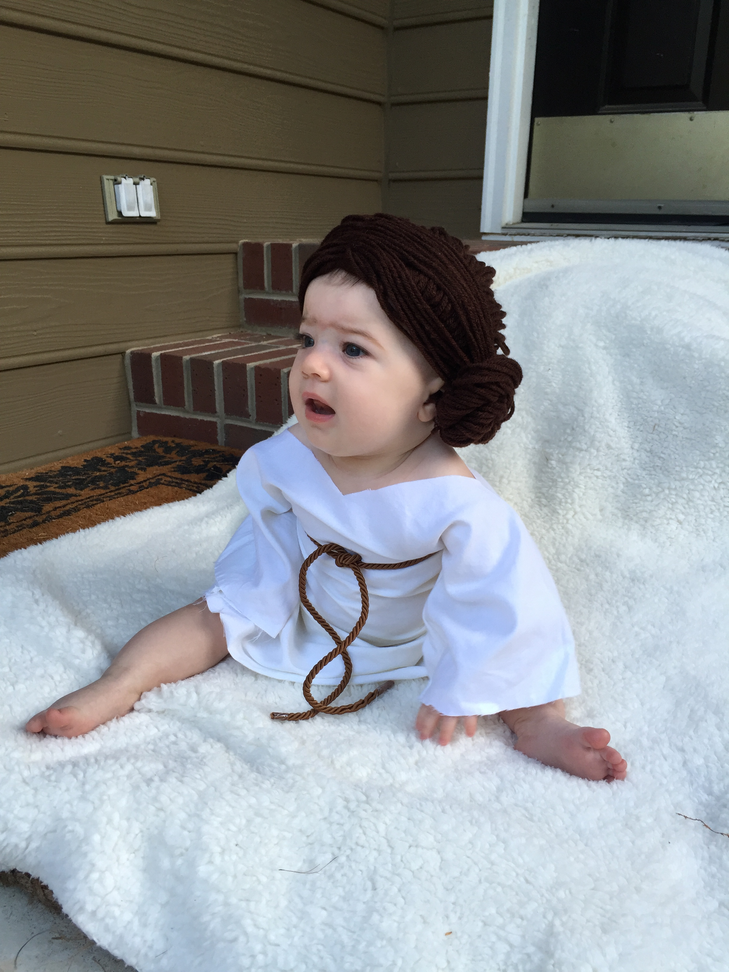 Baby Princess Leia Costume The Craft Crib